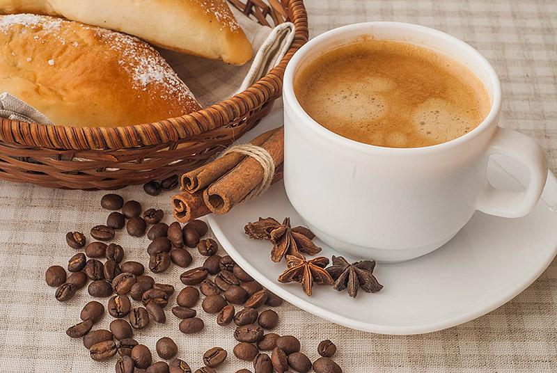 натуральный обжаренный кофе