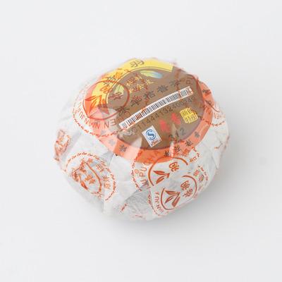 Чай Шу Пуер в мандарині