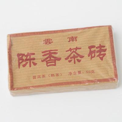 Классический чай Шу Пуэр Плитка