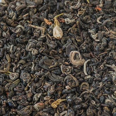 Зелений чай Срібний Равлик з Жасміном