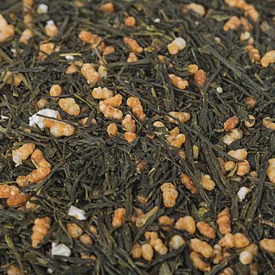 Зелений чай Генмайча